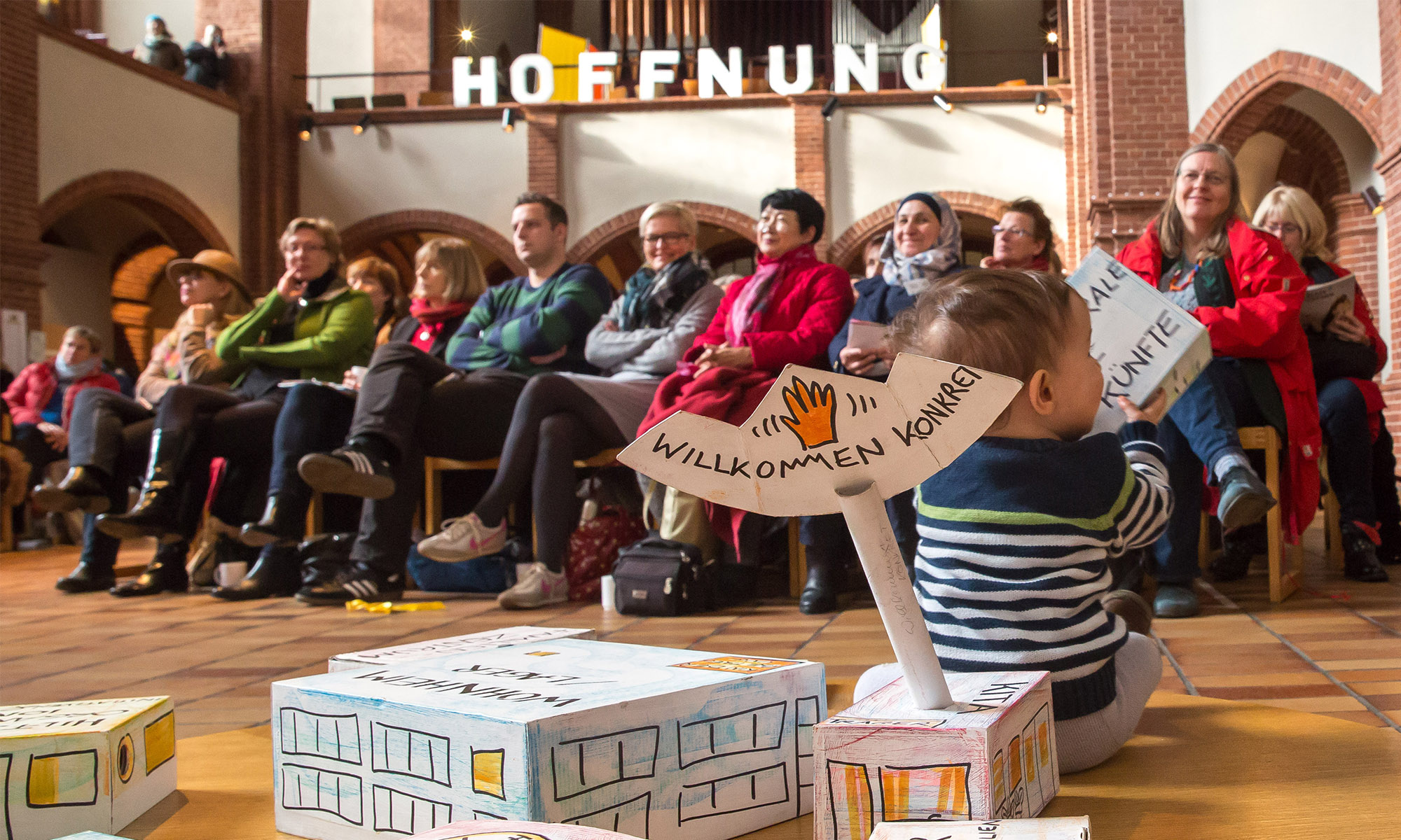 Willkommen KONKRET - Berliner Bündnis für Kinder geflüchteter Familien
